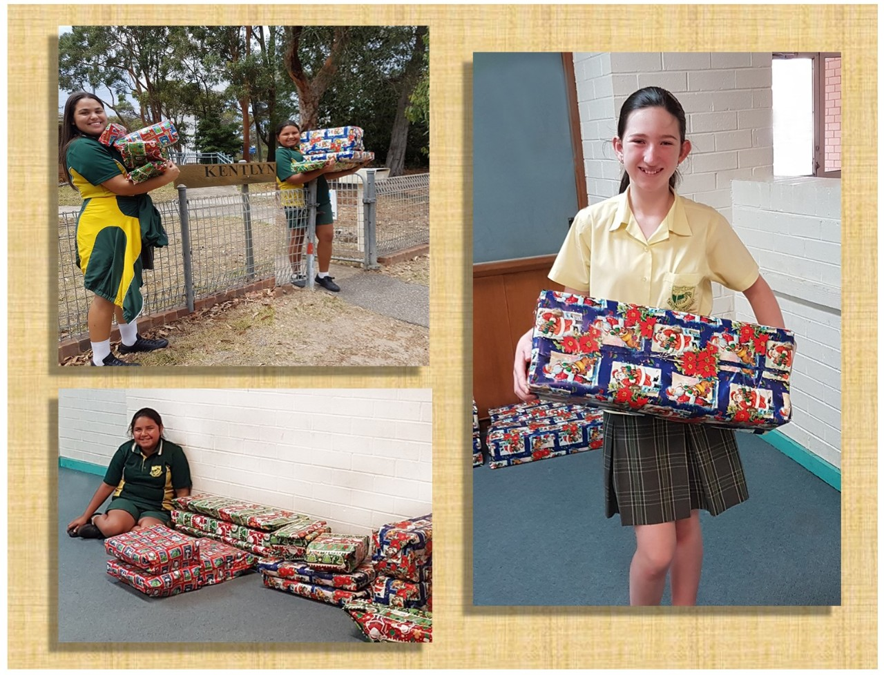 Christmas toy drive at our local primary schools